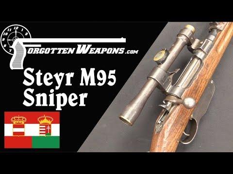 WWI Steyr M95 Sniper Carbine