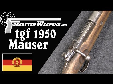 Last of the Czech Mausers: the East German TGF1950 Goes to Ethiopia