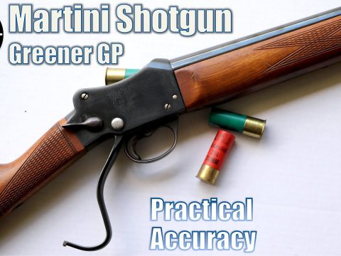 Martini Shotgun Greener GP 12 ga – Close Range Practical Accuracy