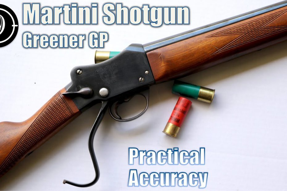 Martini Shotgun Greener GP 12 ga – Close Range Practical Accuracy