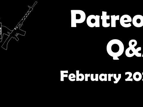 Patreon Q&A, February 2020