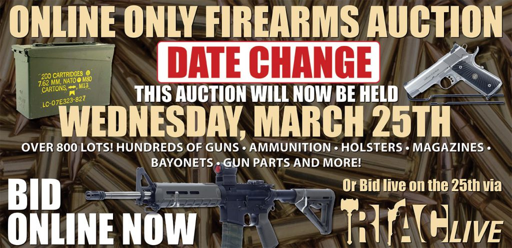 March 25 Online Gun Auction