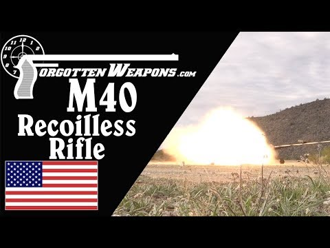 106mm M40 Recoilless Rifle, History and Firing