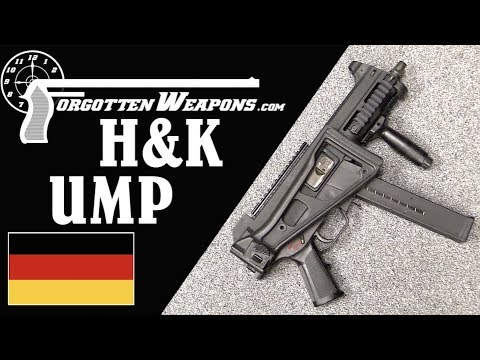 H&K UMP: An H&K SMG Made for .40 and .45