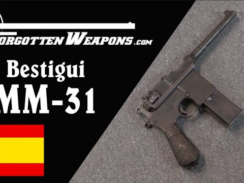 Leaders in Machine Pistols: the Beistigui Hermanos MM31