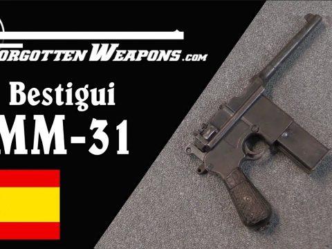Leaders in Machine Pistols: the Beistigui Hermanos MM31