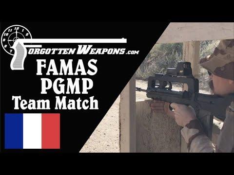 FAMAS PGMP w/ EOTech in a Team 2-Gun Match