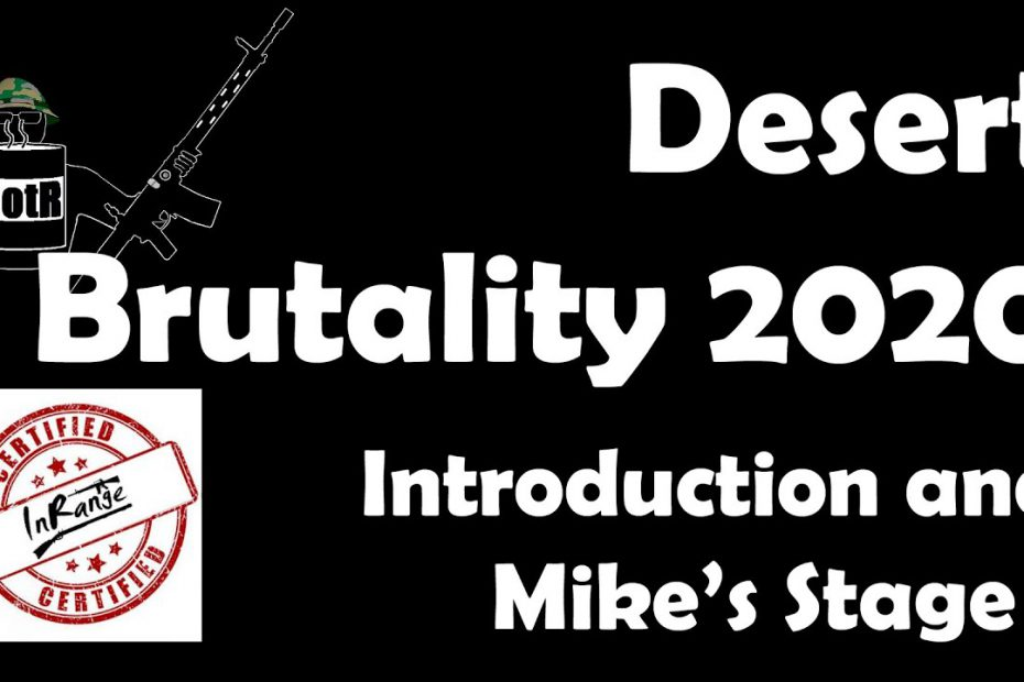 Desert Brutality 2020: BotR Intro and Stage 1 Talkthrough + Iain Harrison (RECOIL) cameo!