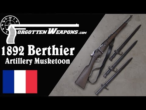 Model 1892 Berthier Artillery Musketoon