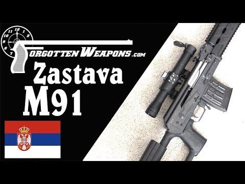 Zastava M91: Serbia Modernizes its DMR to 7.62x54R