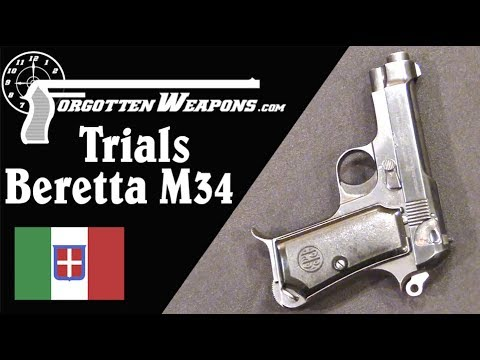 Military Trials Beretta 34 – Can You Make it More Walther?