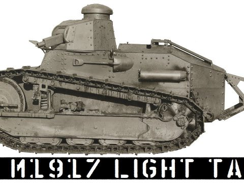 US M1917 Light Tank