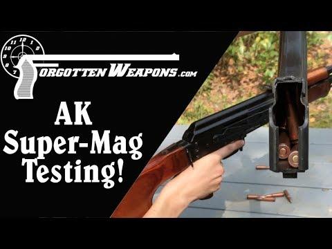 Forgotten Weapons Field Test: 90-Round AK Magazine
