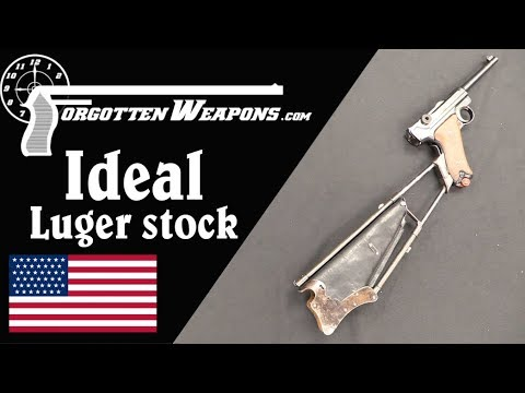 """Ideal"" Holster/Stock for the Luger"