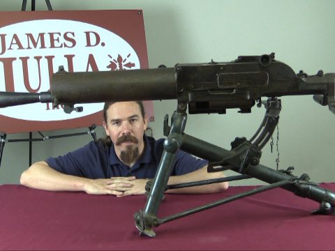 Schwarzlose M1907/12 Heavy Machine Gun