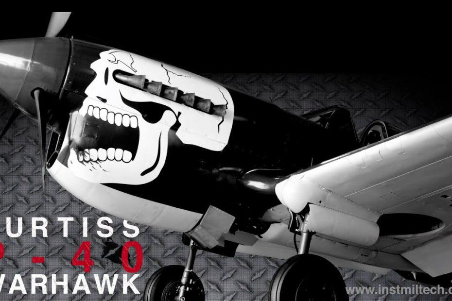 WWII -Curtiss P-40 Warhawk- Major William David Gatling sinks Destroyer U.S.A.A.C. 1943 (MTO)