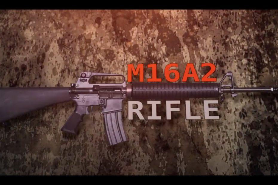 M16A2 – Gun Talk with Lt. Col. David A. Lutz (Ret.) USMC