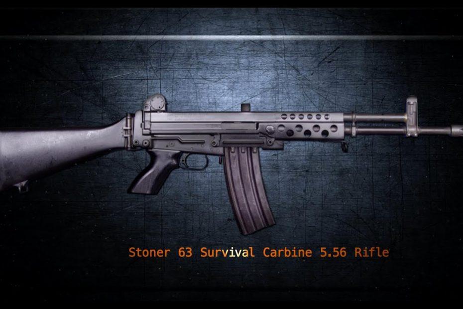 Stoner 63 Survival Carbine – Gun Talk with Jerry Tarble