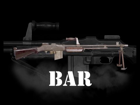 The Browning Automatic Rifle- B.A.R.