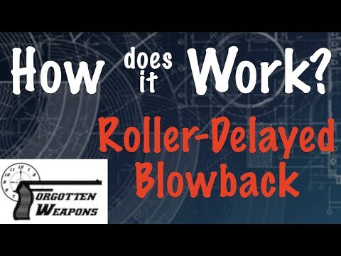 How Does It Work: Roller Delayed Blowback