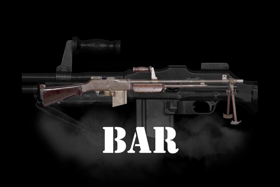 BAR Browning Automatic Rifle -II a rare collection