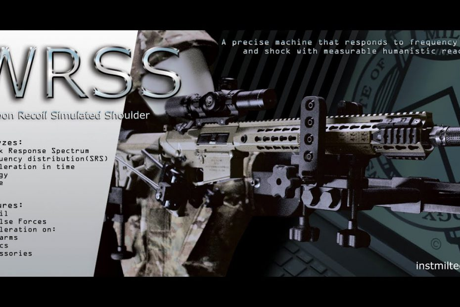 WRSS – Weapon Recoil Simulated Shoulder – promo 4K