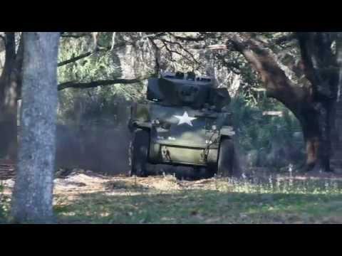 M5A1 Stuart tank