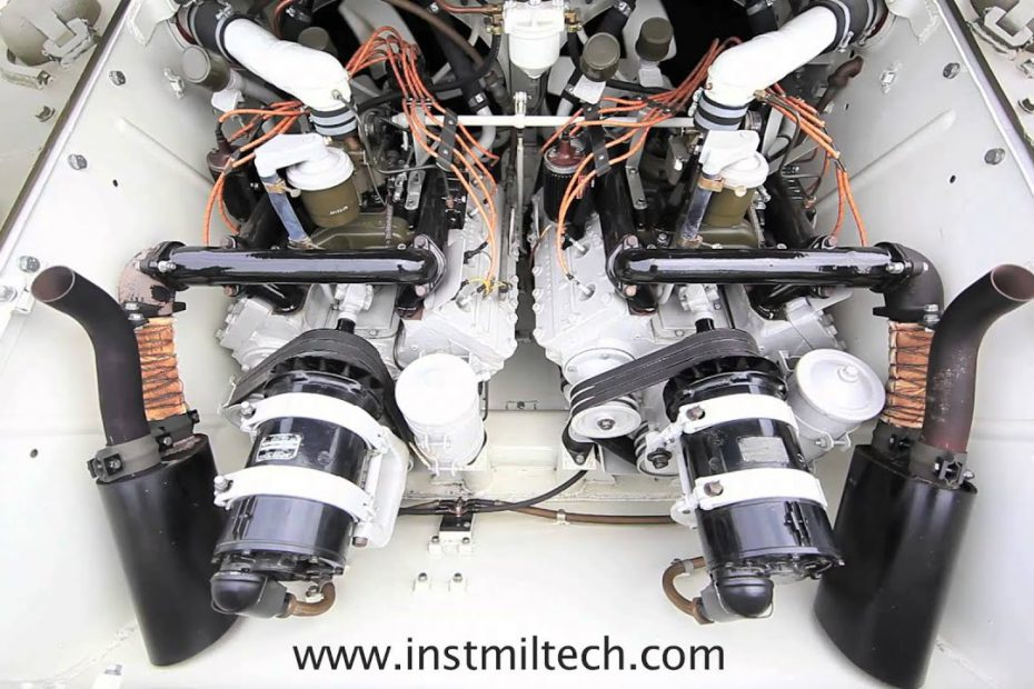 The M24 V8 Cadillac Engines come alive – teaser