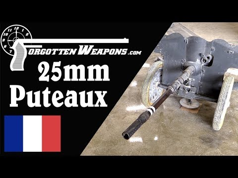 Light, Mobile, and Deadly: the French Mle 1937 25mm Puteaux AT Gun
