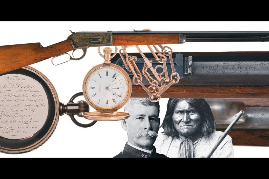 A Winchester 1886 for the Man Who Captured Geronimo