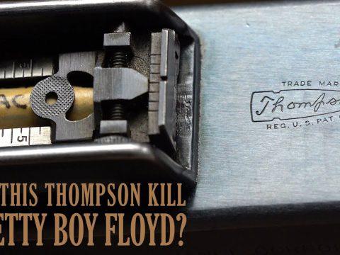 Did This Thompson Kill Pretty Boy Floyd?