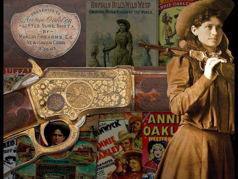 Annie Oakley's Golden Marlin 1897
