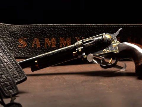 A Rat Pack Revolver: Sammy Davis Jr's Colt Single Action Army