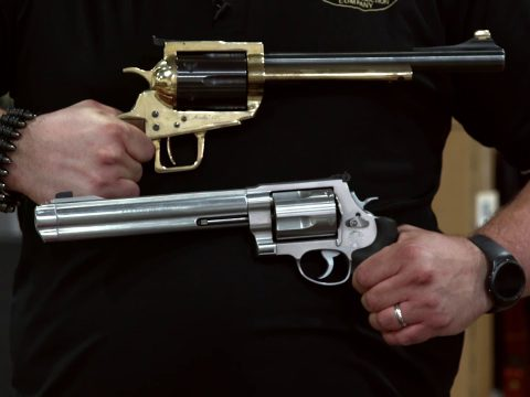 Warehouse Stroll with Joel: Century Arms Revolver in .45-70
