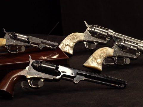 Extraordinary & Embellished: Colt Revolvers