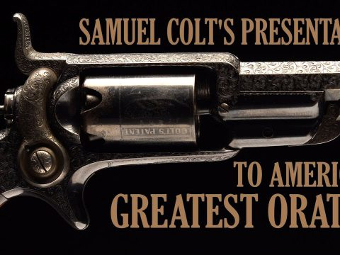 Samuel Colt's Presentation to America's Greatest Orator