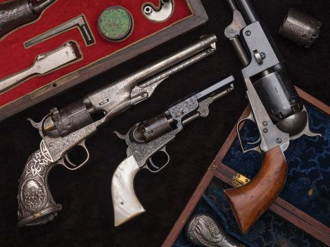 Colt Percussion Revolvers: Embellishment at Every Level