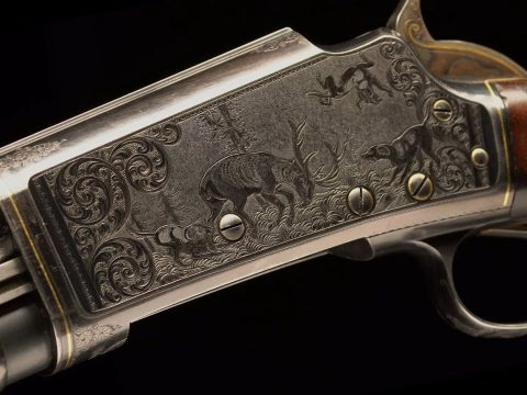 Classic, Factory Engraved Marlin Pump Shotguns