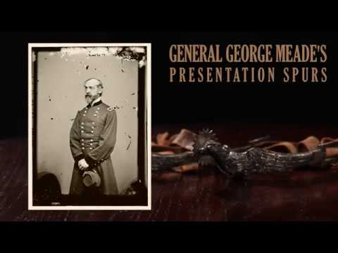 General George Meade's Solid Silver Spurs