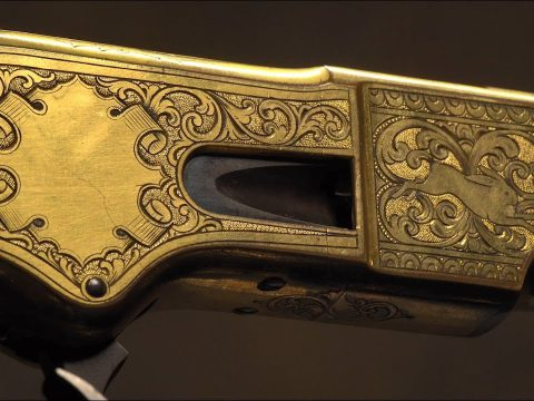 Silver & Gold Winchester Rifles
