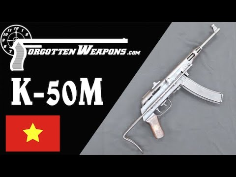 North Vietnamese K-50M Submachine Gun