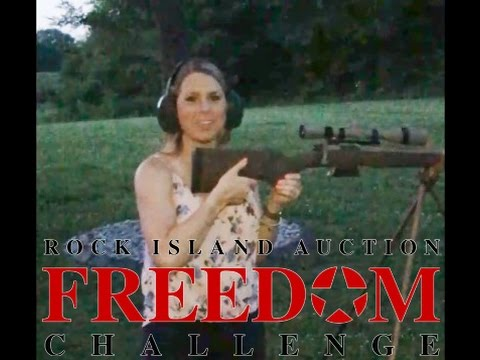 First Female Shooter Accepts the #RIAFreedomChallenge – Lauryn!