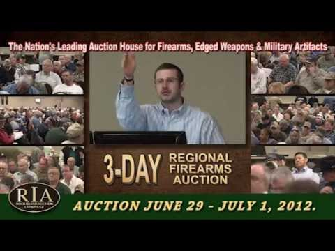 Add to Your Gun Collection – Huge 6,000 Guns up for Auction RIAC's 3 Day Regional Firearms Sale