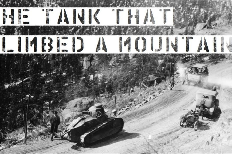 The Tank That Climbed a Mountain (1919)