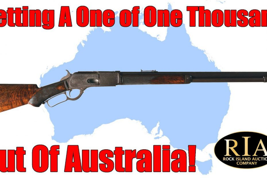 "Getting A ""One of One Thousand"" Out of Australia"