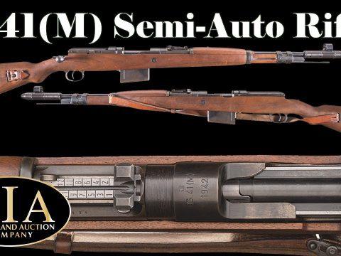 Mauser's  G41(M) Semiautomatic Rifle