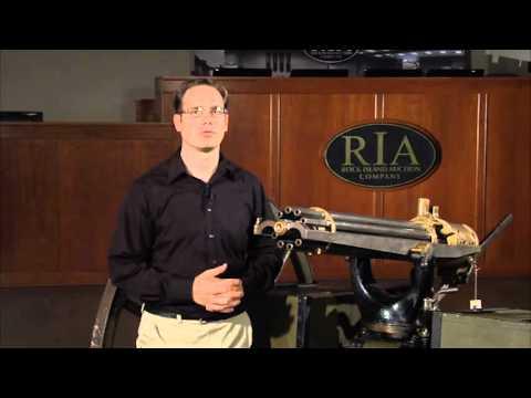 U.S. Colt Model 1890 Gatling Gun