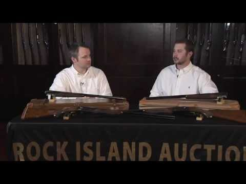 Winchester Grand American Model 21 At April Auction