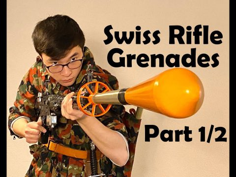 SWISS FLYING CARROTS: Stgw. 57 Rifle Grenades (Part 1/2: History)