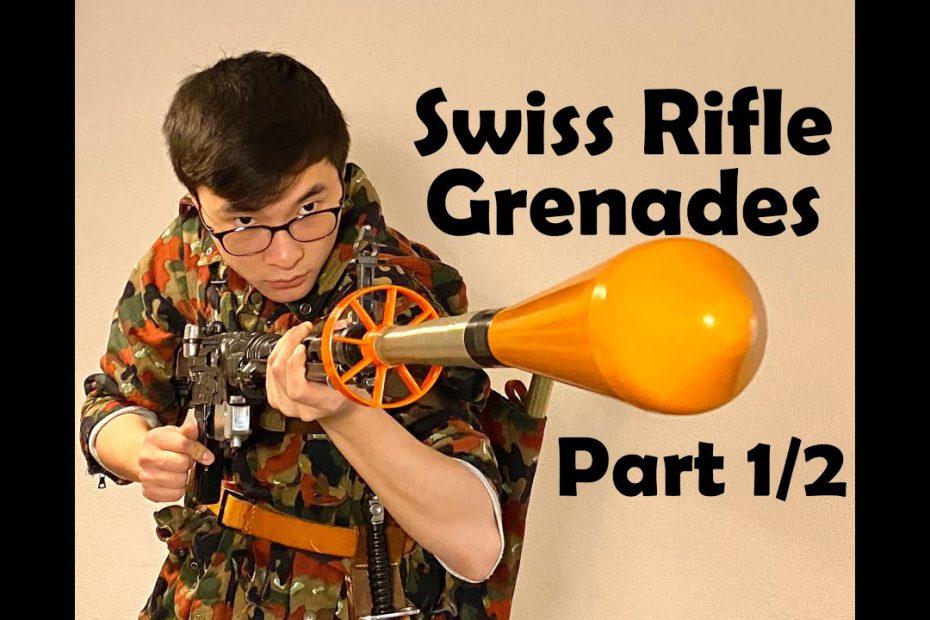 SWISS FLYING CARROTS: Stgw. 57 Rifle Grenades (Part 1/2: History)